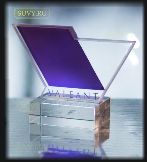 Корпоративный сувенир из стекла