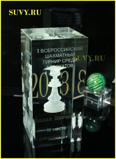 Статуэтка для победителей шахматного турнира среди адвокатов