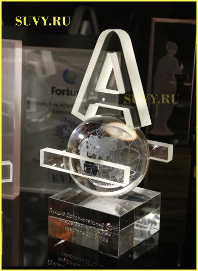 Эксклюзивный корпоративный подарок для руководителей лучших офисов Альфа-Банка