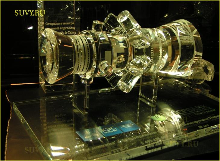 Макет газовой турбины для электростанции. Подарок для энергетика